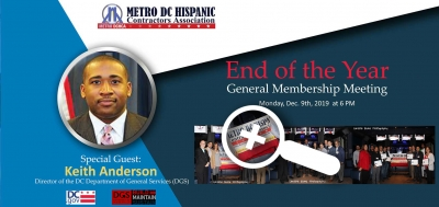 End of the year General Membership meeting